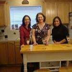 Briana, my sister Claire, my cousin Michael's fiancee, Ann Drea