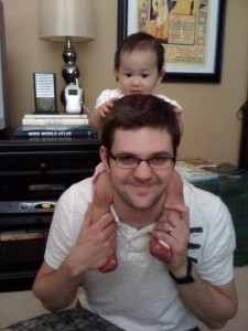 Hanging out on Daddy