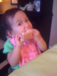 She loves bread.