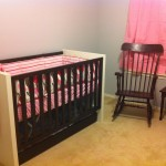 The nursery, it still needs finishing touches