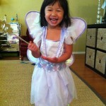 And a fairy costume