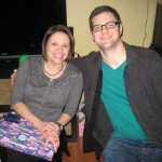 Annie &amp; Scott, Christmas Eve 2011