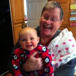 Laughing with Papaw