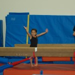Done with the balance beam