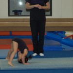 Forward straddle roll