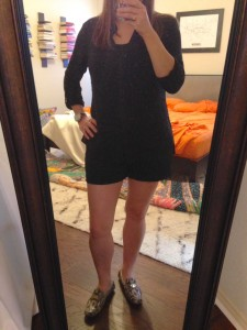 10.18.15 - didn't stay cool all day so changed to black shorts and my python print leather loafers