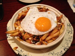 Duck Egg Poutine
